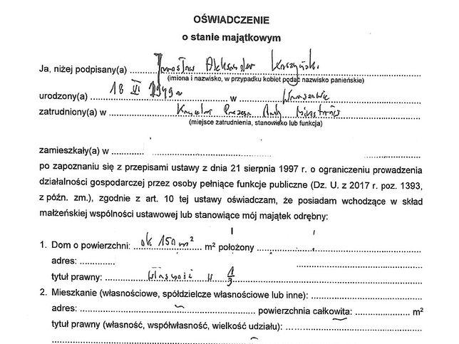 Nowe oświadczenie majątkowe Jarosława Kaczyńskiego