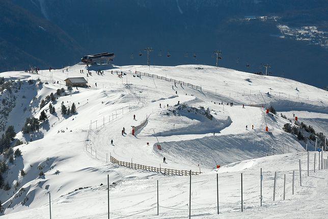 Alpejskie długie zjazdy bywają kombinacją kilku tras
