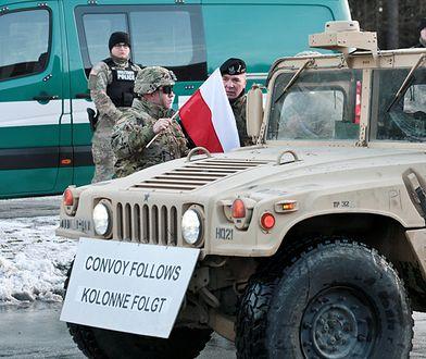 Militarna sobota w całej Polsce. MON wita wojska USA