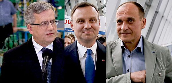 Sensacyjne wyniki wyborów. Olbrzymia porażka Bronisława Komorowskiego
