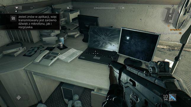 tego laptopa można było zepsuć strzelając...