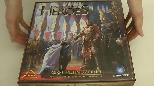 Heroes of Might and Magic - gra planszowa. Co kryje się w pudełku?