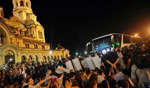 Starcia przed bułgarskim parlamentem w Sofii