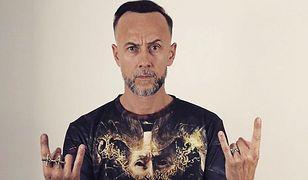 """Adam """"Nergal"""" Darski, lider zespołu """"Behemoth""""."""
