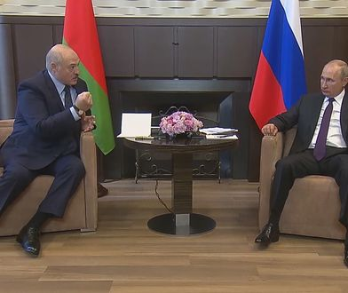 Władimir Putin i Aleksander Łukaszenka rozmawiali o sytuacji na Białorusi. Mowa ciała zdradziła prawdziwe relacje prezydentów