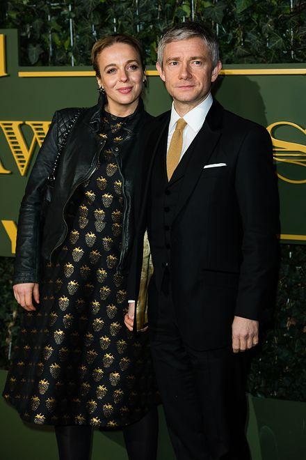 Martin Freeman i Amanda Abbington się rozstali