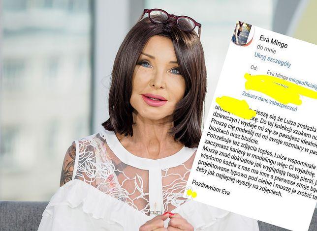 Eva Minge ostrzega przed fałszywym e-mailem