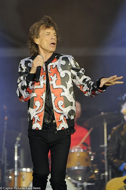 Mick Jagger bawił się w towarzystwie Nicole Scherzinger