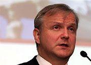 Komisarz ds. gospodarczych i walutowych Olli Rehn