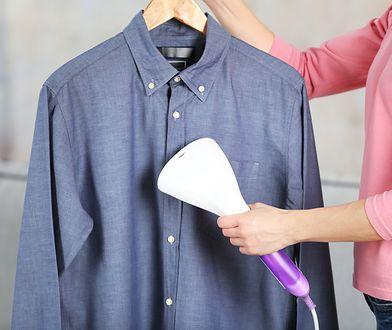 Parownica odświeża i prasuje delikatne tkaniny