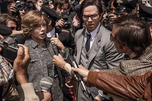 """Michelle Williams i Mark Wahlberg w filmie """"Wszystkie pieniądze świata"""""""