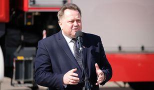 Jarosław Zieliński pochwalił pracę policjantów