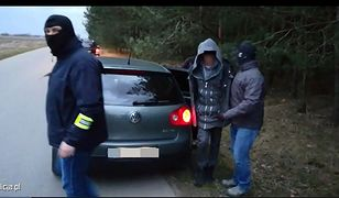 Ojciec 3-latki został zatrzymany na terenie powiatu ostrołęckiego