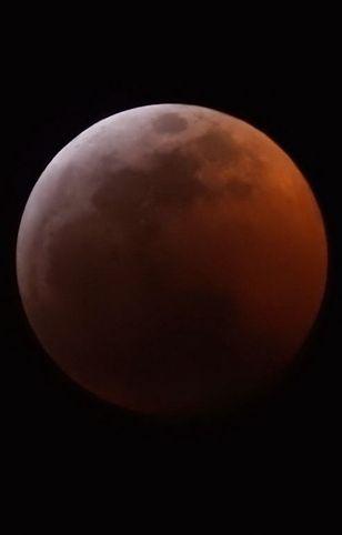 Zaćmienie księżyca 20 stycznia 2019 r. widoczne z Denver