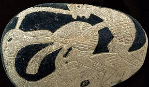 Prekolumbijski kamień pochodzący z peruwiańskiego regionu Ica