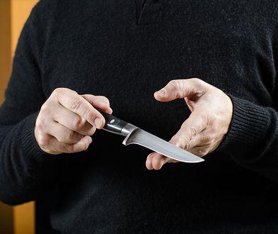 25-letni nożownik miał problemy z narkotykami.