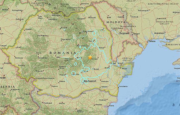 Trzęsienie ziemi o sile 5,6 w Rumunii