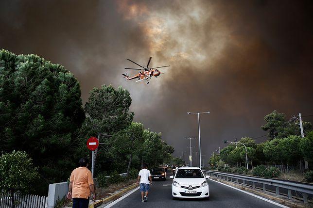 Wśród ofiar śmiertelnych pożarów w Grecji jest dwoje Polaków