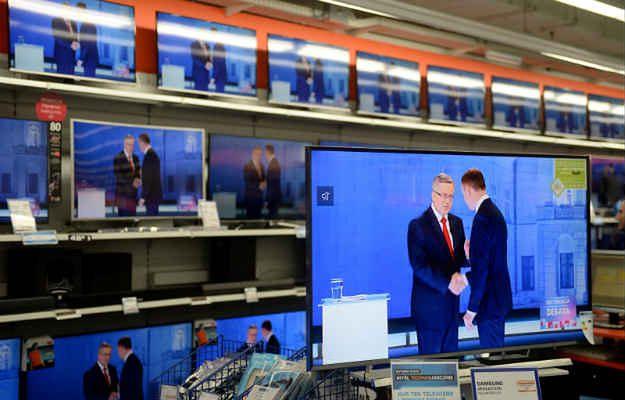 Bronisław Komorowski i Andrzej Duda spotkali się w drugiej telewizyjnej debacie przed II turą wyborów prezydenckich