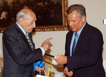 Jerzy Janicki u prezydenta