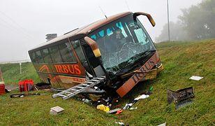 Wypadek polskiego autokaru koło Brna - 29 osób rannych