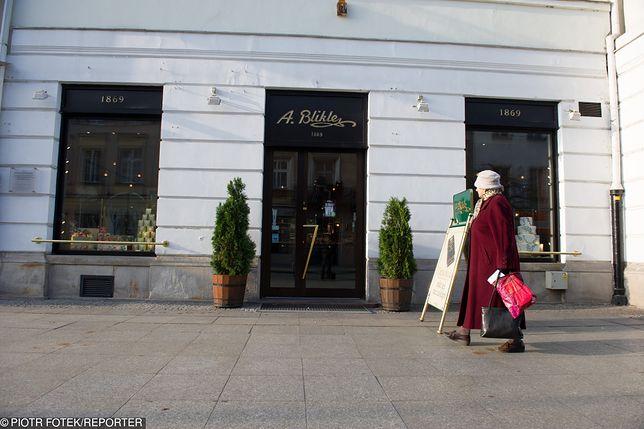 Zamknięto słynną cukiernię Bliklego w Warszawie po niemal 150 latach