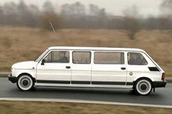 Fiat 126p jako limuzyna