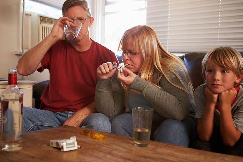 Uzależnienie rodziców