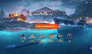 Wszyscy na pokład! Tylko teraz rozpocznij przygodę w World of Warships z bonusem!