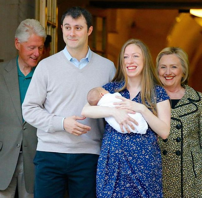 Chelsea Clinton, Hillary Clinton, Bill Clinton