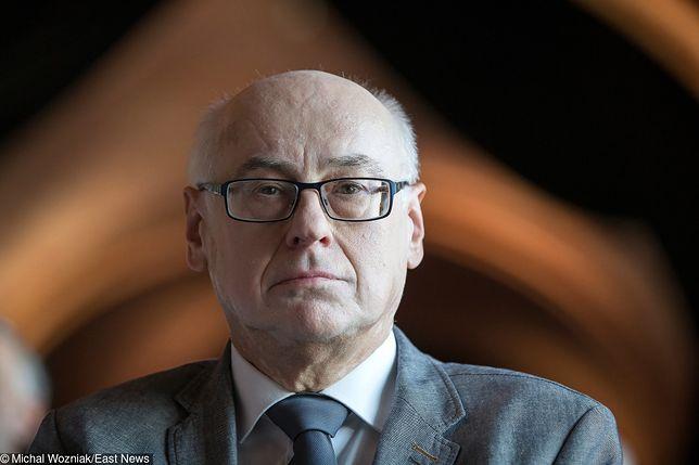Zdzisław Krasnodębski (PiS) będzie walczył o stanowisko wiceprzewodniczącego Parlamentu Europejskiego