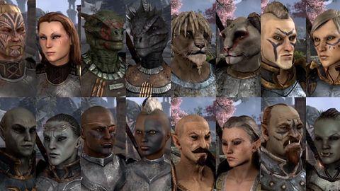 Kreator postaci ze Skyrim nie ma startu do tego z The Elder Scrolls: Online