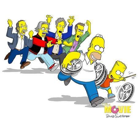 'Simpsonowie' oddają hołd Jacksonowi