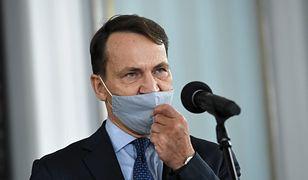 """""""Droga do polexitu"""". Radosław Sikorski postawił sprawę jasno"""