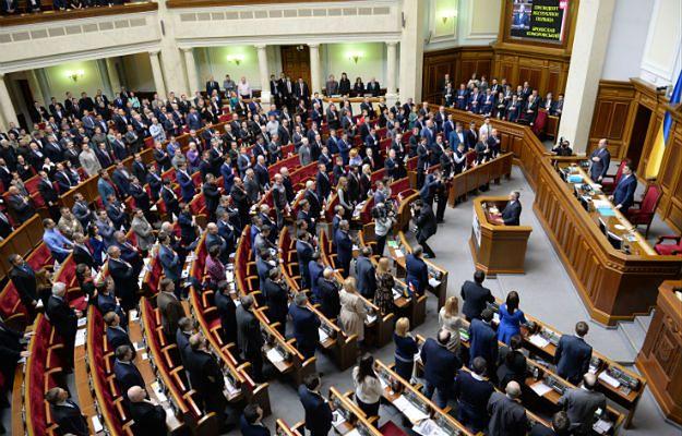 Bronisław Komorowski w ukraińskim parlamencie