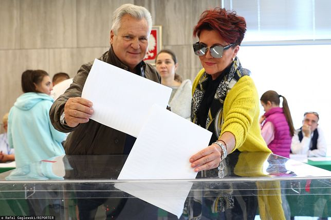 Była para prezydencka: Jolanta oraz Aleksander Kwaśniewscy (zdj. arch.)