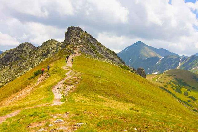 Najstarszy szlak papieski w Polsce, Tatry