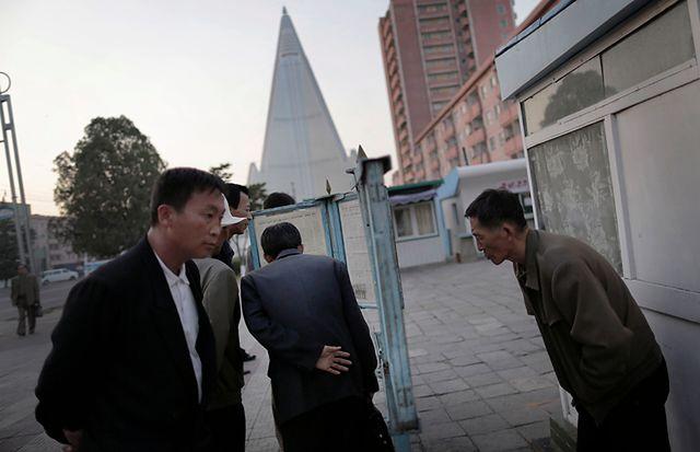 Październik w Korei Północnej