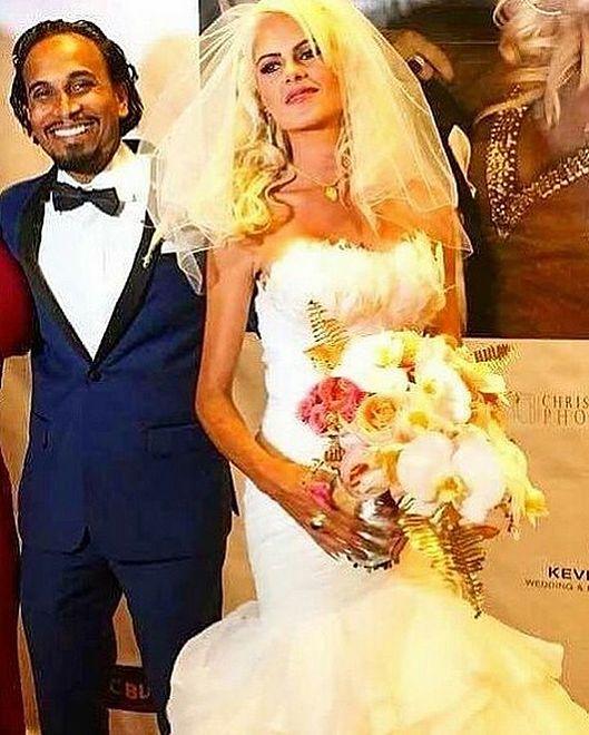 Iwona Burnat i Reggie Benjamin się pobrali