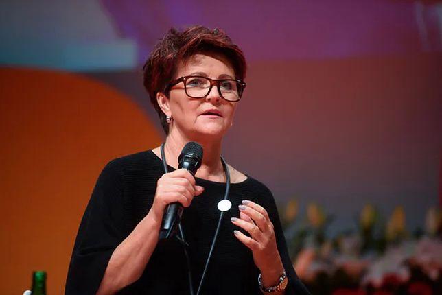 Jolanta Kwaśniewska powiedziała, że podobały jej się słowa córki prezydenta Dudy