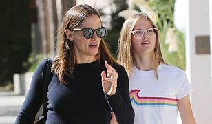 Jennifer Garner z córką spacerują po Santa Monica
