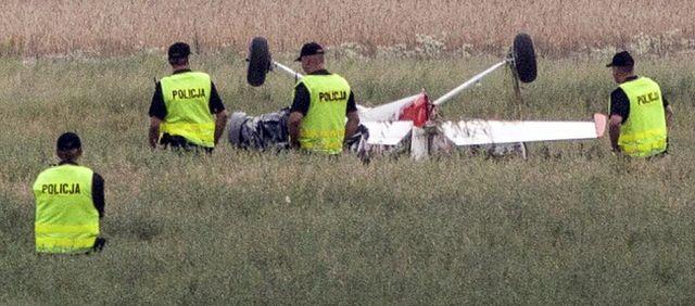 Samoloty zderzyły się w powietrzu - zdjęcia