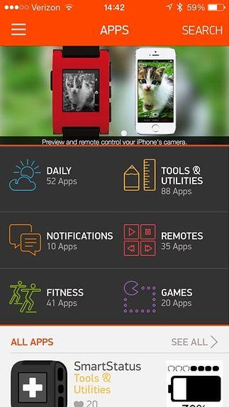 Kategorie aplikacji