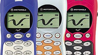 Quo vadis telefonie komórkowy? - Podobnie wygladała moja pierwsza motorola