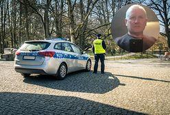 Jacek Jaworek drwi z policji? Internetowe profile