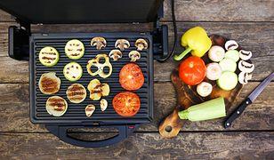 grill grill elektryczny warzywa grillowane