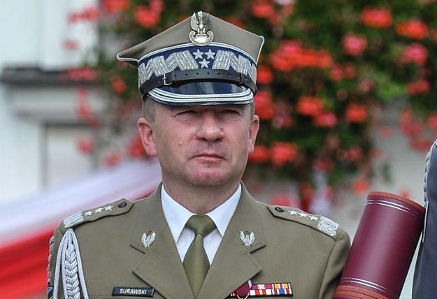 Gen. broni Leszek Surawski I zastępcą dowódcy generalnego rodzajów sił zbrojnych