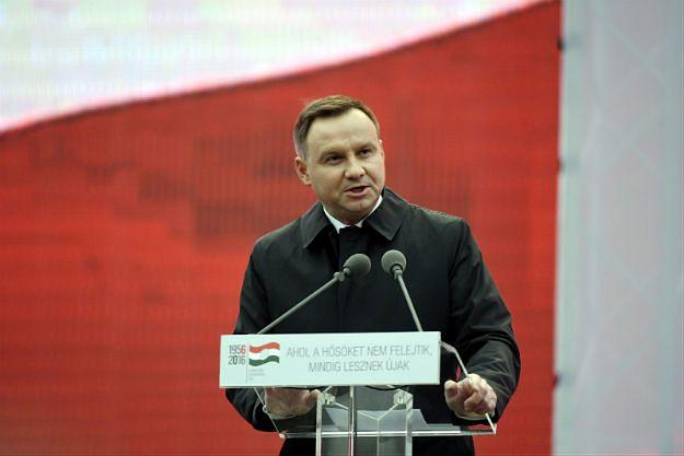 Prezydent Andrzej Duda w Budapeszcie: Węgrzy zapłacili za pragnienie wolności