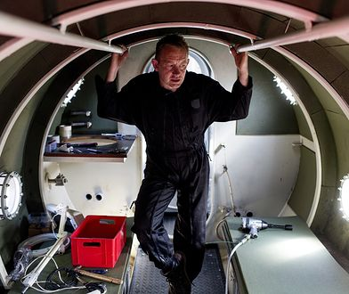 Peter Madsen na łodzi z której zniknęła Kim Wall