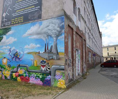 Ulica Fabryczna w Zielonej Górze.